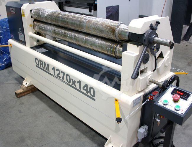 3-Walzen Rundbiegemaschine OSTAS ORM 1270x140