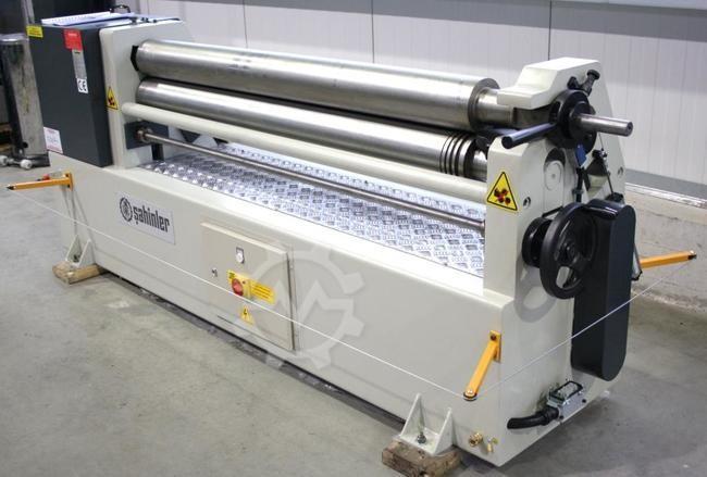 3-Walzen Rundbiegemaschine SAHINLER IRM 1550 x 110